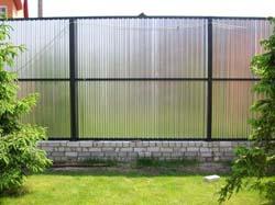 Металлический забор на зависть всем соседям!